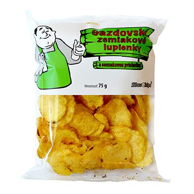 Gazdovské zemiakové lupienky cesnakové