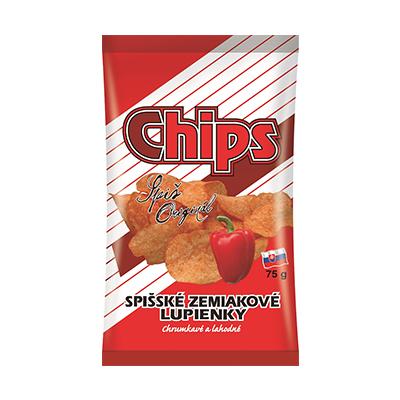 Spišské chips paprika