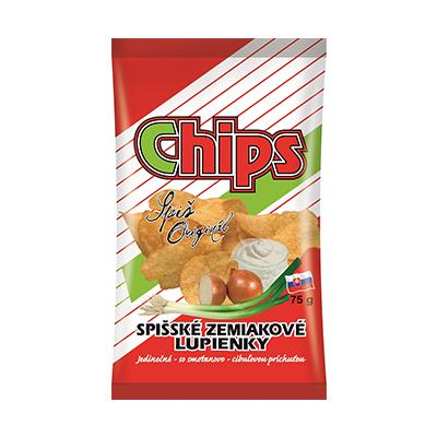 Spišské chips smotana cibuľa