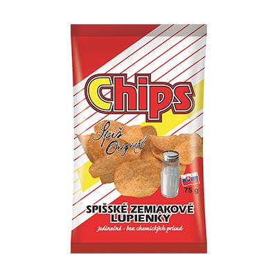 Spišské chips soľ