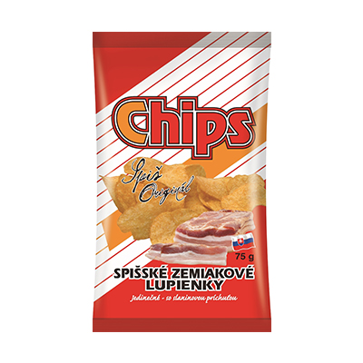 Spišské chips slanina
